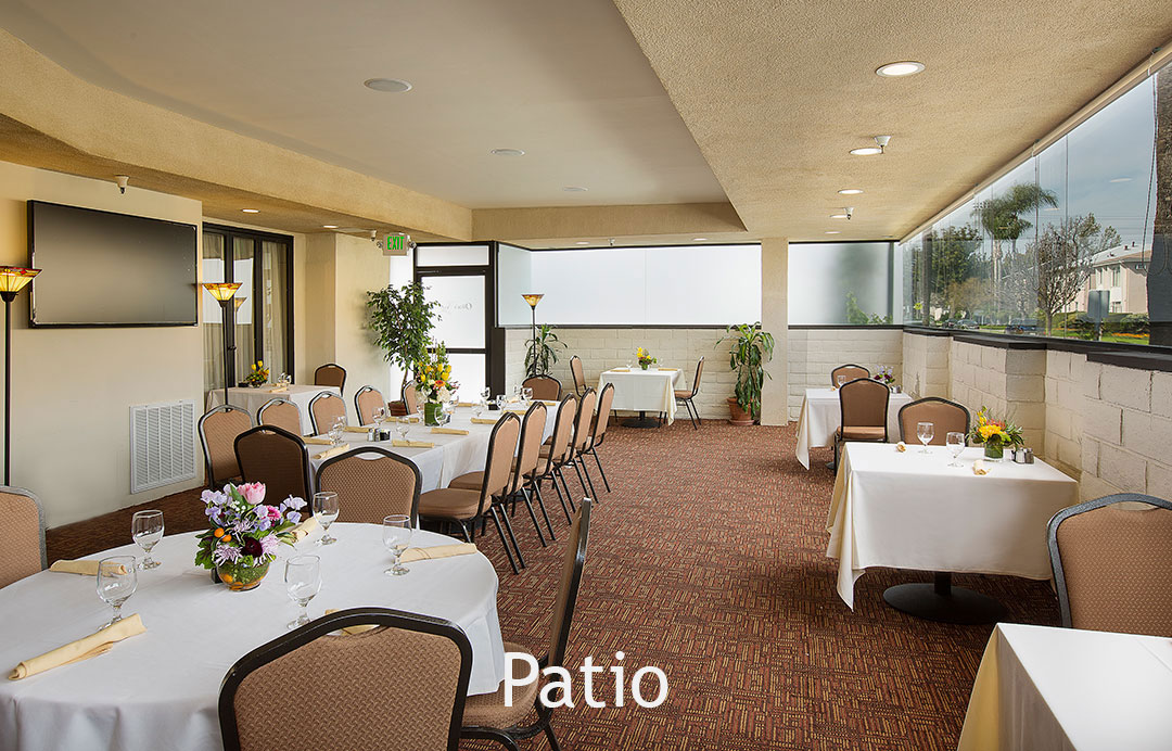 Meetings and Banquets Patio Coast Anabelle