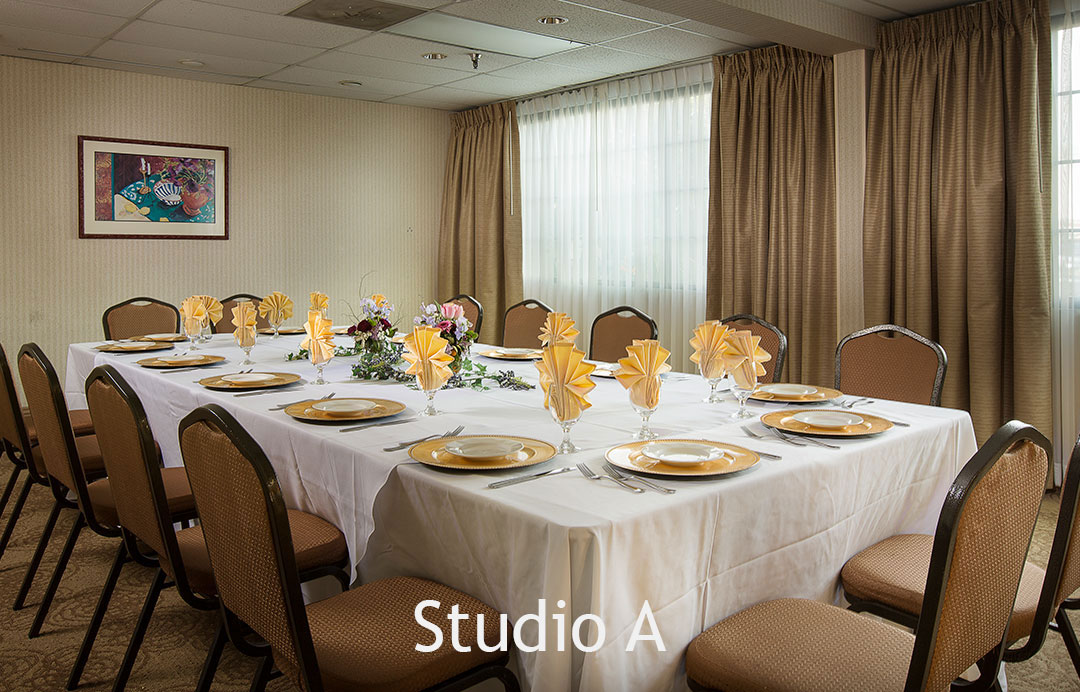 Meetings and Banquets Studio A Coast Anabelle