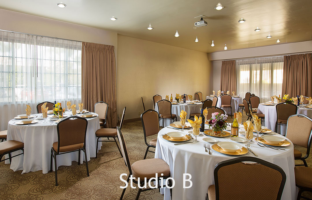 Meetings and Banquets Studio B Coast Anabelle
